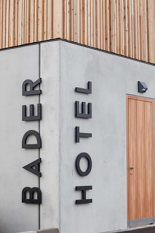 Bader Hotel Fassade