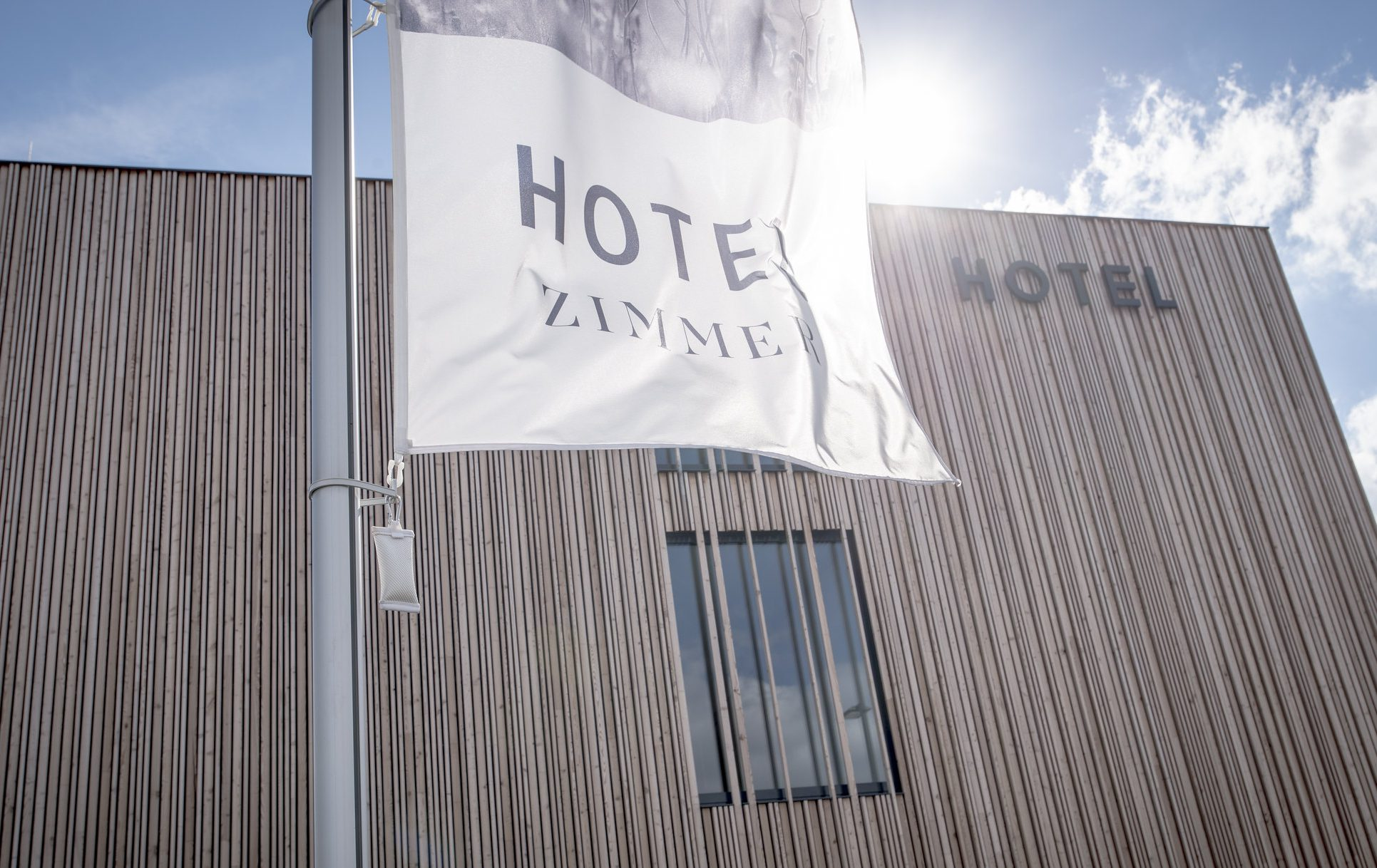 Bader Hotel Holzfassade
